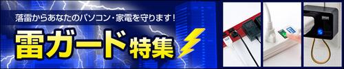 雷ガード対策